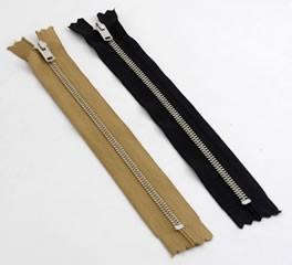 ファスナー 20cm(金具:ニッケル)(20cm)