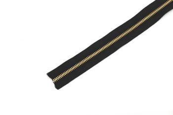ファスナー4号(1m)金具ゴールド