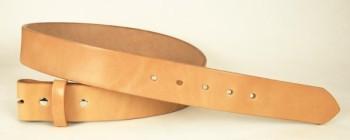 完成品ベルト<LCベンズグレーズド・無地>シングルピン用・40S<巾3.9 cm>