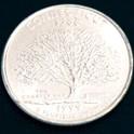 コネチカット州クウォーターニッケルコイン