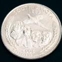 サウスダコタ州クウォーターニッケルコイン