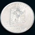 ニューメキシコ州クウォーターニッケルコイン