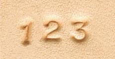 メタル刻印棒セット・数字(小)
