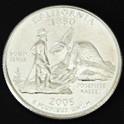 カリフォルニア州クウォーターニッケルコイン