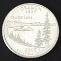 オレゴン州クウォーターニッケルコイン