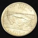 ウエストバージニア州クウォーターニッケルコイン