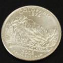 コロラド州クウォーターニッケルコイン